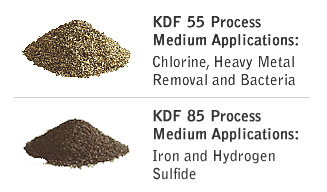KDF 55 and KDF 85 Process Media are available for primary water and industrial treatment.